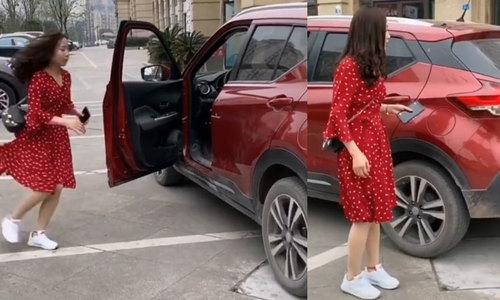 Cô gái tháo chạy vì giúp khống chế ôtô