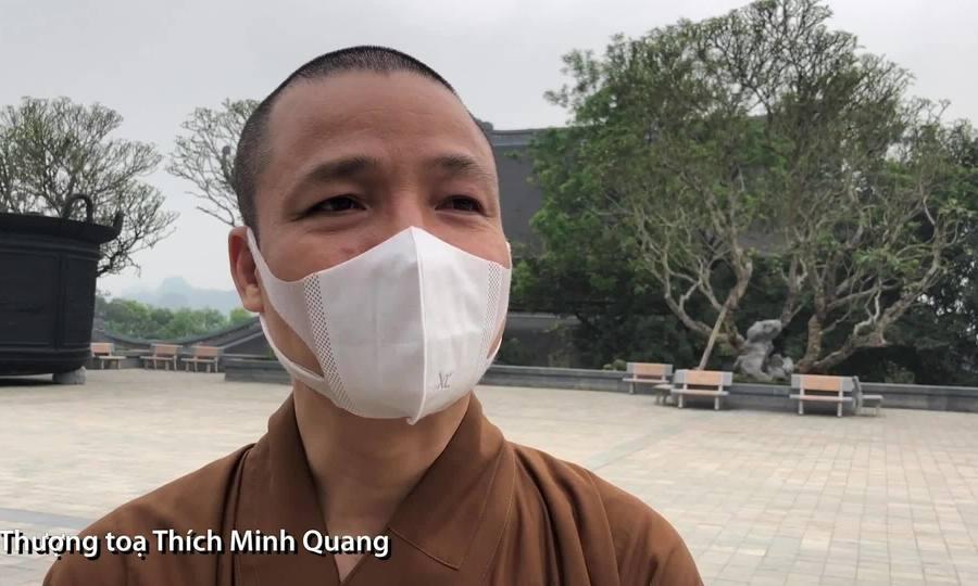 Thượng toạ Thích Minh Quang