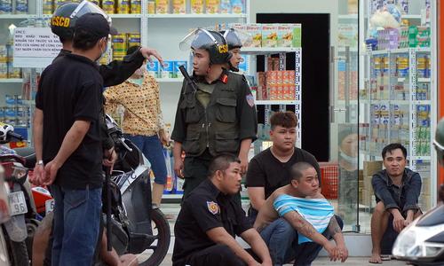 Băng giang hồ thu tiền bảo kê bị bắt giữ