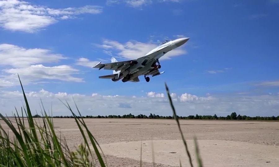 Dàn khí tài Nga luyện tập duyệt binh Ngày Chiến thắng