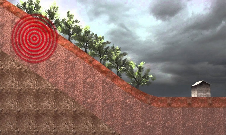 Sạt lở đất xảy ra như thế nào?