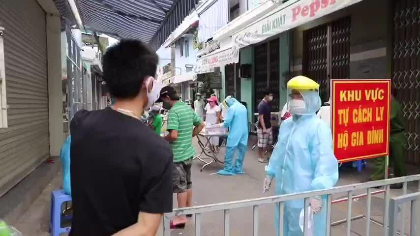 Xét nghiệm nCoV trong dân cư ở Đà Nẵng