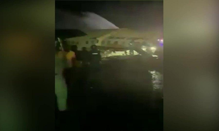Máy bay Ấn Độ gặp nạn
