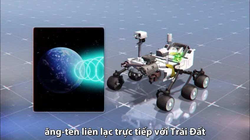 Robot thám hiểm sao Hỏa của NASA trang bị những gì?