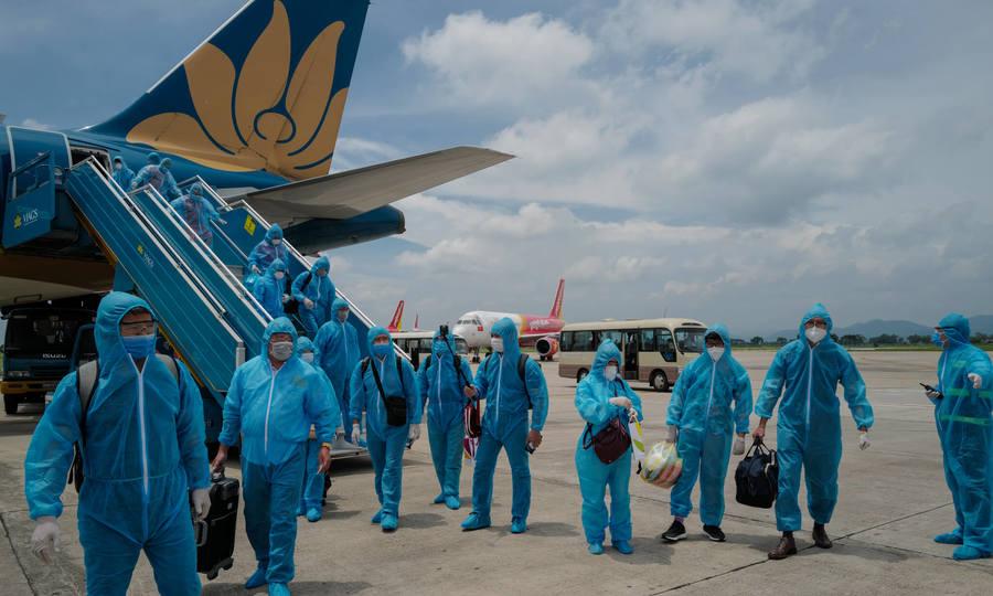 'Giải cứu' gần 800 người mắc kẹt tại tâm dịch Đà Nẵng