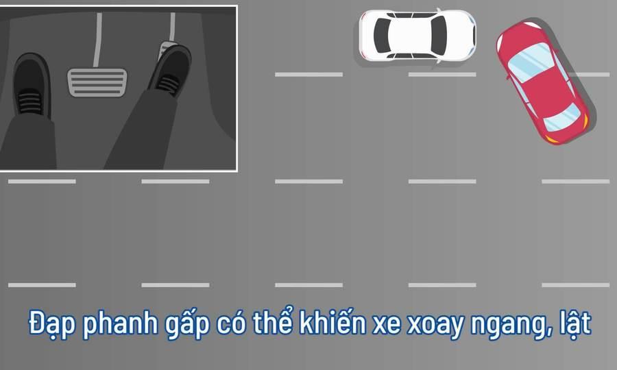Cách xử lý an toàn khi xe nổ lốp