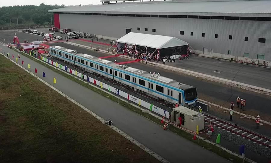 Tàu Metro Số 1 được thiết kế như thế nào ?