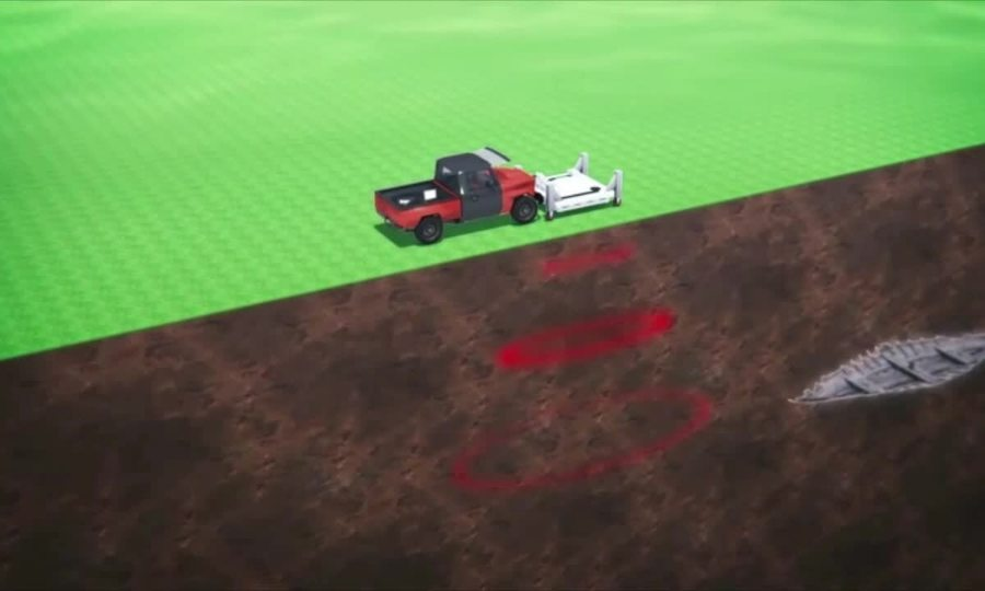 Công nghệ radar giúp phát hiện xác tàu Viking dưới lòng đất