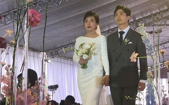 Lễ cưới Công Phượng - Viên Minh ở Nghệ An