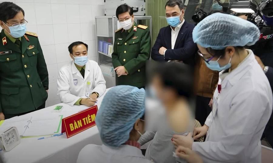 Vaccine Covid-19 của Viêt Nam tiêm thử nghiệm trên người