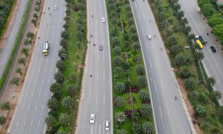 Những tuyến đường nhiều tầng cây xanh