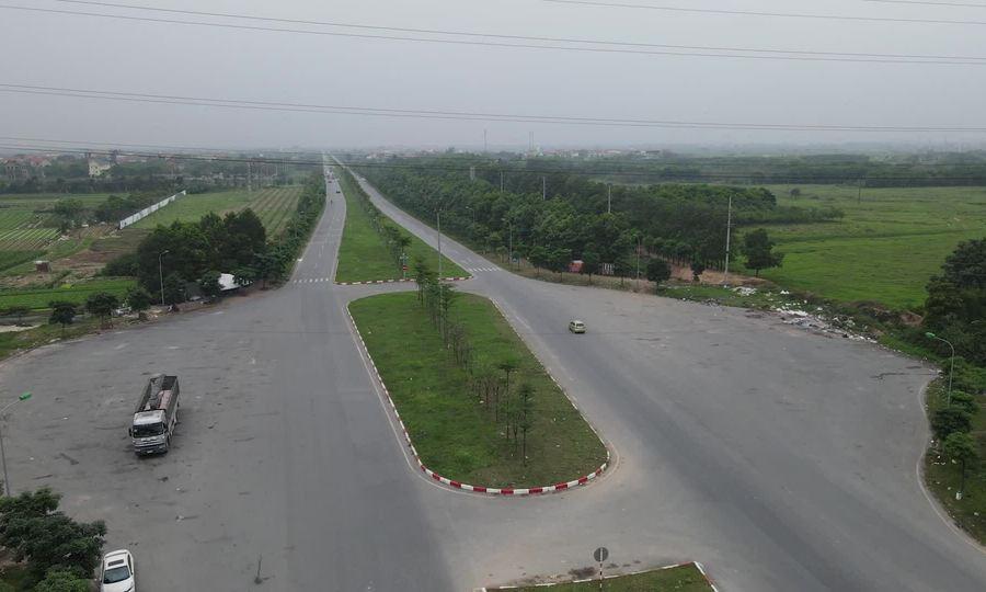 Đường trục 2.300 tỷ nối Hà Nội-Vĩnh Phúc