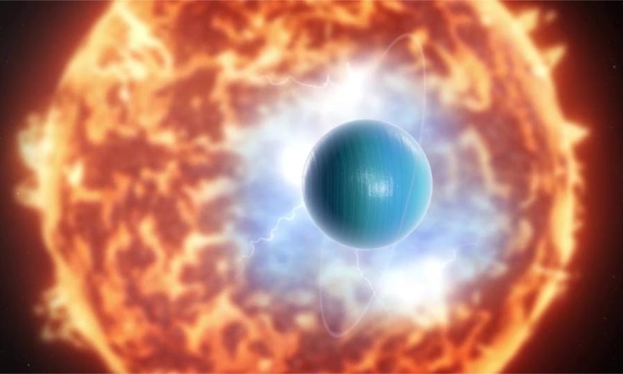 Sao Thiên Vương đang phát ra tia X