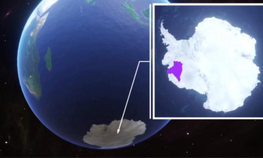 Sông băng 'tận thế' có nguy cơ sụp đổ
