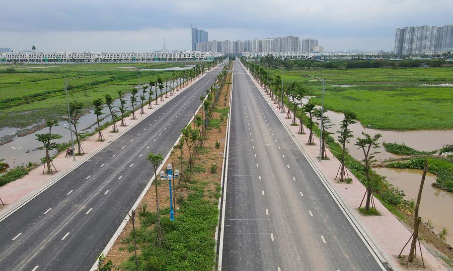 Hai tuyến đường mới ở ngoại thành Hà Nội