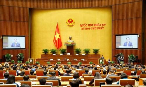 Chủ tịch Quốc hội Vương Đình Huệ phát biểu nhậm chức
