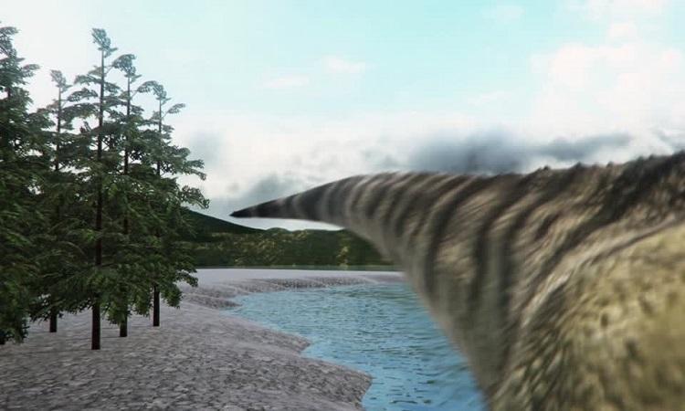 Thiên thạch xóa sổ khủng long tạo sóng thần cao 1,6 km