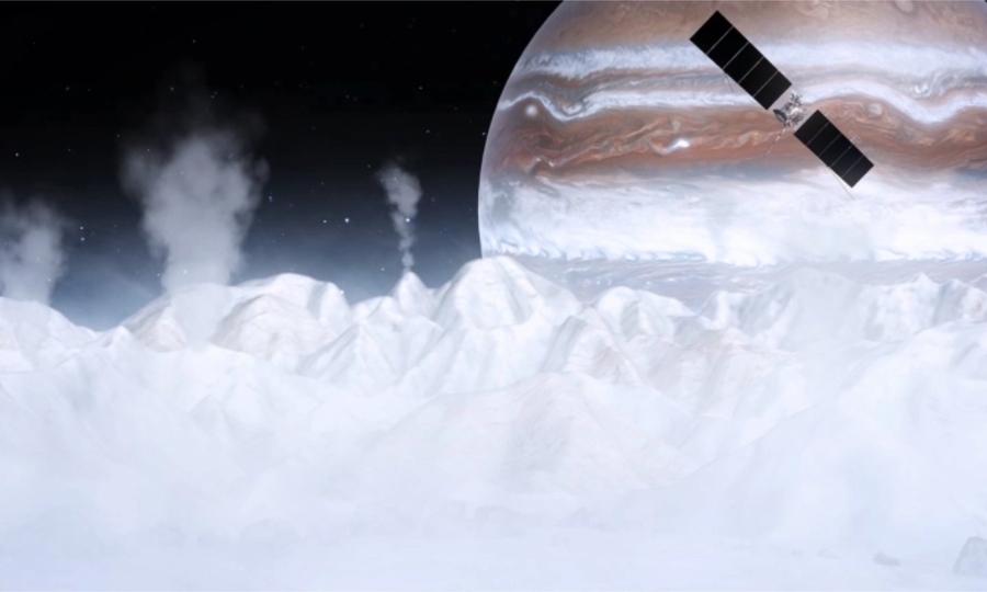 Mô phỏng sứ mệnh thăm dò mặt trăng băng giá của sao Mộc