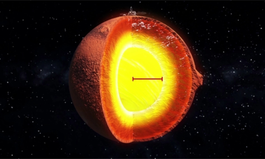NASA công bố cấu trúc bên trong của sao Hỏa