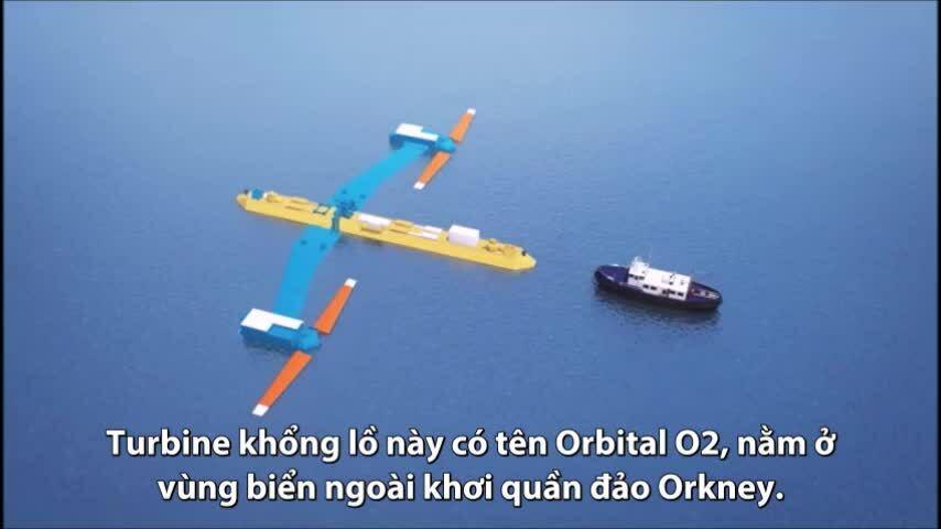 Turbine thủy triều mạnh nhất thế giới vận hành như thế nào?