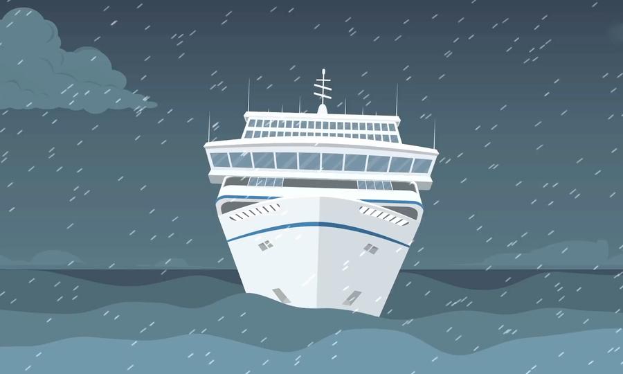 Lý do siêu du thuyền có thể vượt sóng to gió lớn