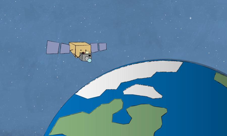 Vì sao vệ tinh có thể lơ lửng trong quỹ đạo?