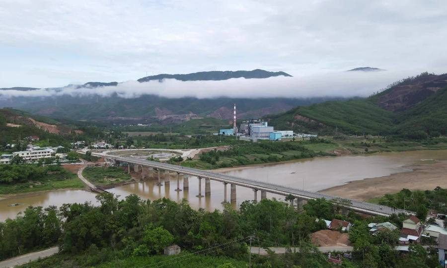 Cầu gần 130 tỷ đồng bắc qua sông Thu Bồn