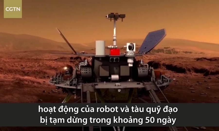 Tại sao robot Trung Quốc trên sao Hỏa mất liên lạc?