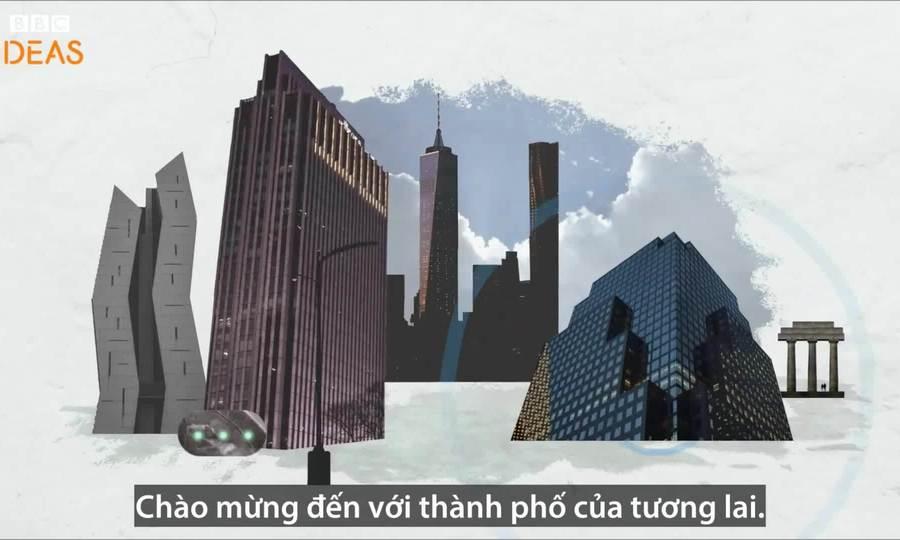 Viễn cảnh sống trong thành phố do AI kiểm soát