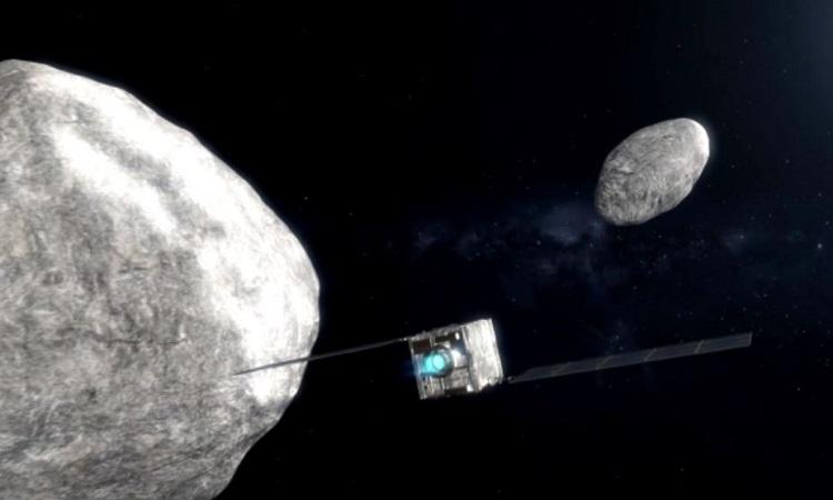 Tàu vũ trụ sắp đâm vào tiểu hành tinh ở 21.700 km/h