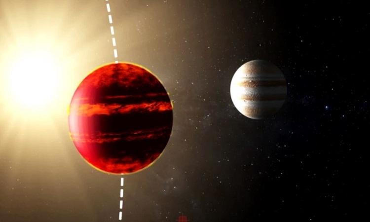 Hành tinh siêu nóng có mưa sắt